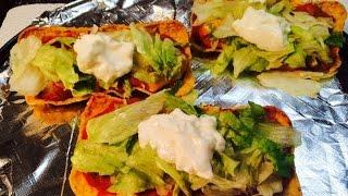 New Recipe! Weight Watcher Friendly - Fiesta Flat Tacos!