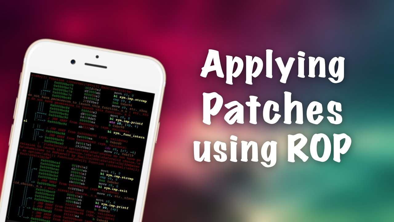 How to Patch Processes Using ROP | Binary Exploitation Tutorial