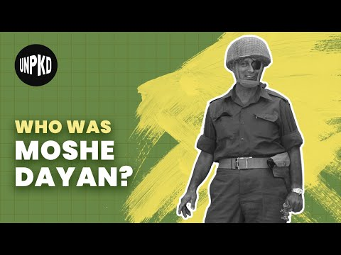 Moshe Dayan: Iconic Military Leader