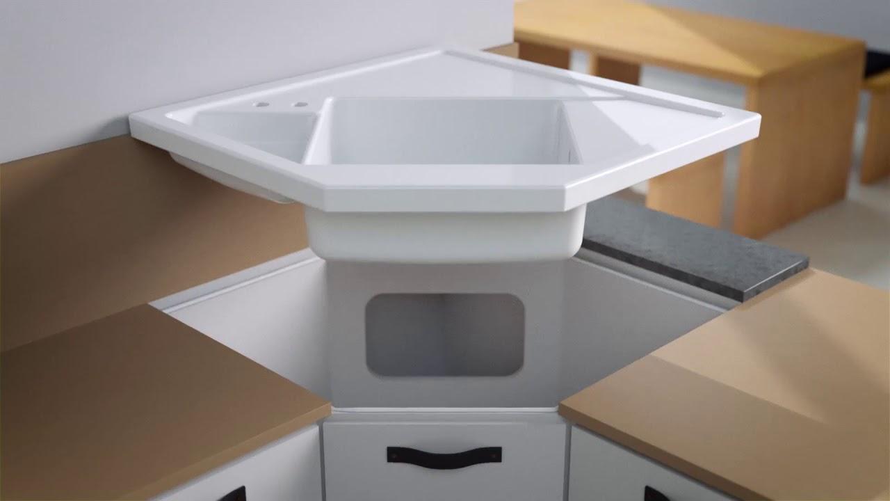 Jak Zamontować Zlew Narożny Ceramiczny Villeroy Boch