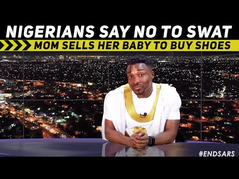 Nigerians reject both SWAT and SARS; Mom sells her baby to buy shoes (Pararan Mock News)