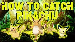 HOW TO GET PICHU/PIKACHU/RAICHU - Roblox Pokemon Brick Bronze: PokeDex