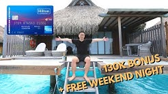 Amex Hilton Surpass: Best Offer? 130k Hilton + Free Weekend Night