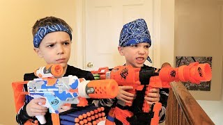 nerf war payback time squad vs daddy 2019