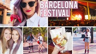 A Weekend At Barcelona Primavera Festival Ad | Inthefrow