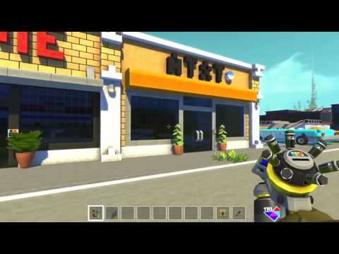 Scrap Mechanic Town  EP 125  Gamestop & Classic Car World Download
