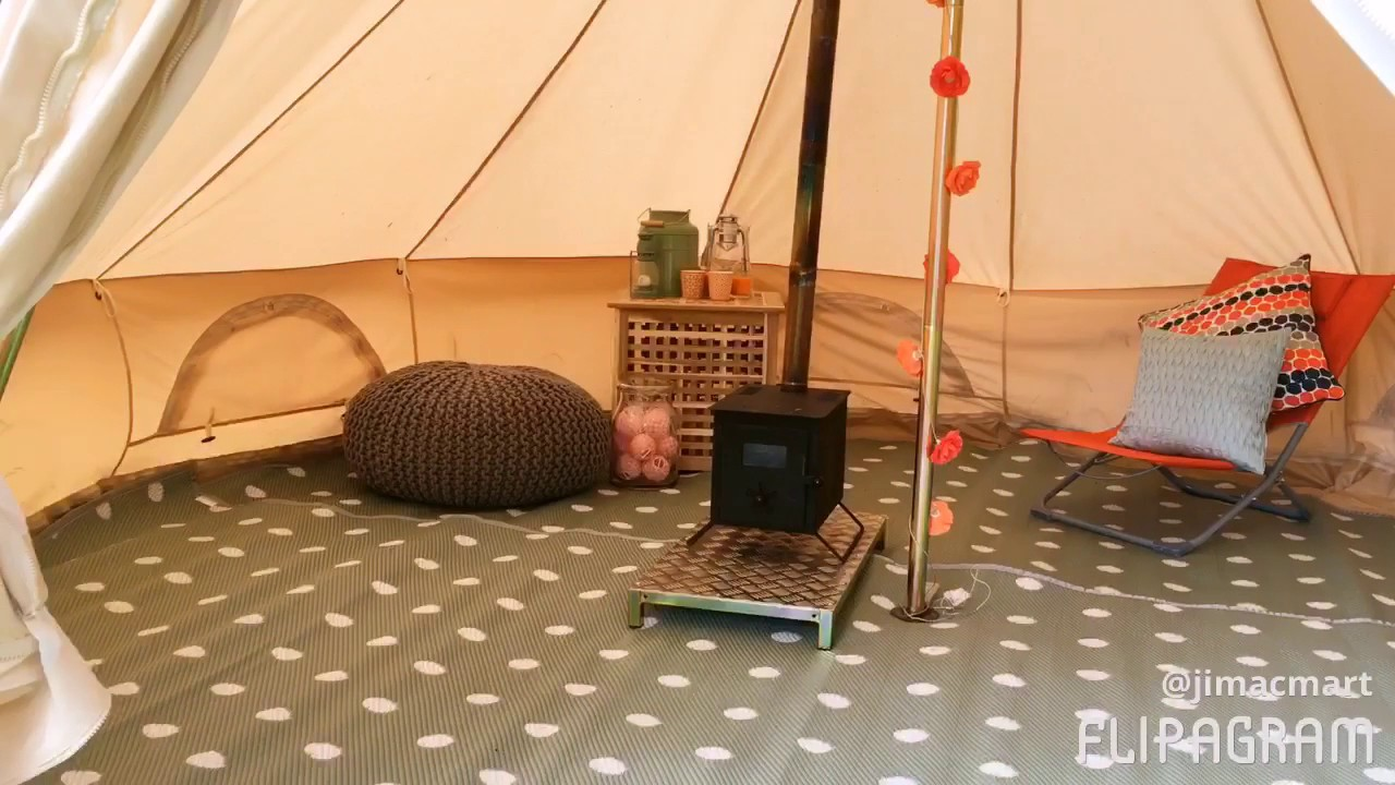5 Metre /'Sorbet/' Polypropylene Bell Tent Matting Cleanable//Washable /& Foldable