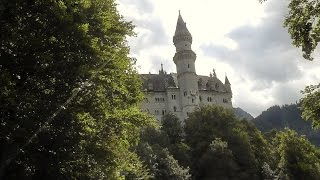 REAL DISNEY CASTLE - Neuschwanstein Castle, Germany - Leonard Does Europe #8(Mad King Ludwig's Neuschwanstein Castle, known as the
