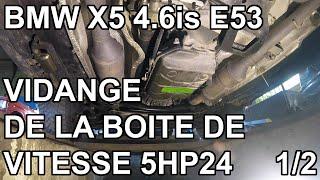 [Auto] BMW X5 E53 - Vidanger la boite de vitesse ZF 5HP24 - partie 1
