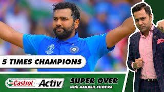 MUMBAI LIFT the TROPHY for the FIFTH TIME   Castrol Activ Super Over with Aakash Chopra