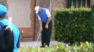 Ernie Els finds out he