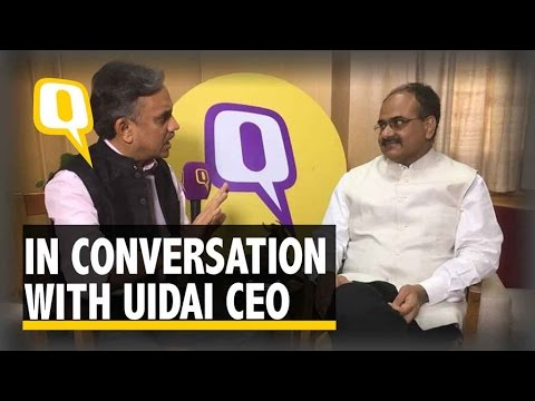 The Quint: Exclusive | Data Leaks From Aadhaar Not Possible, Says UIDAI CEO