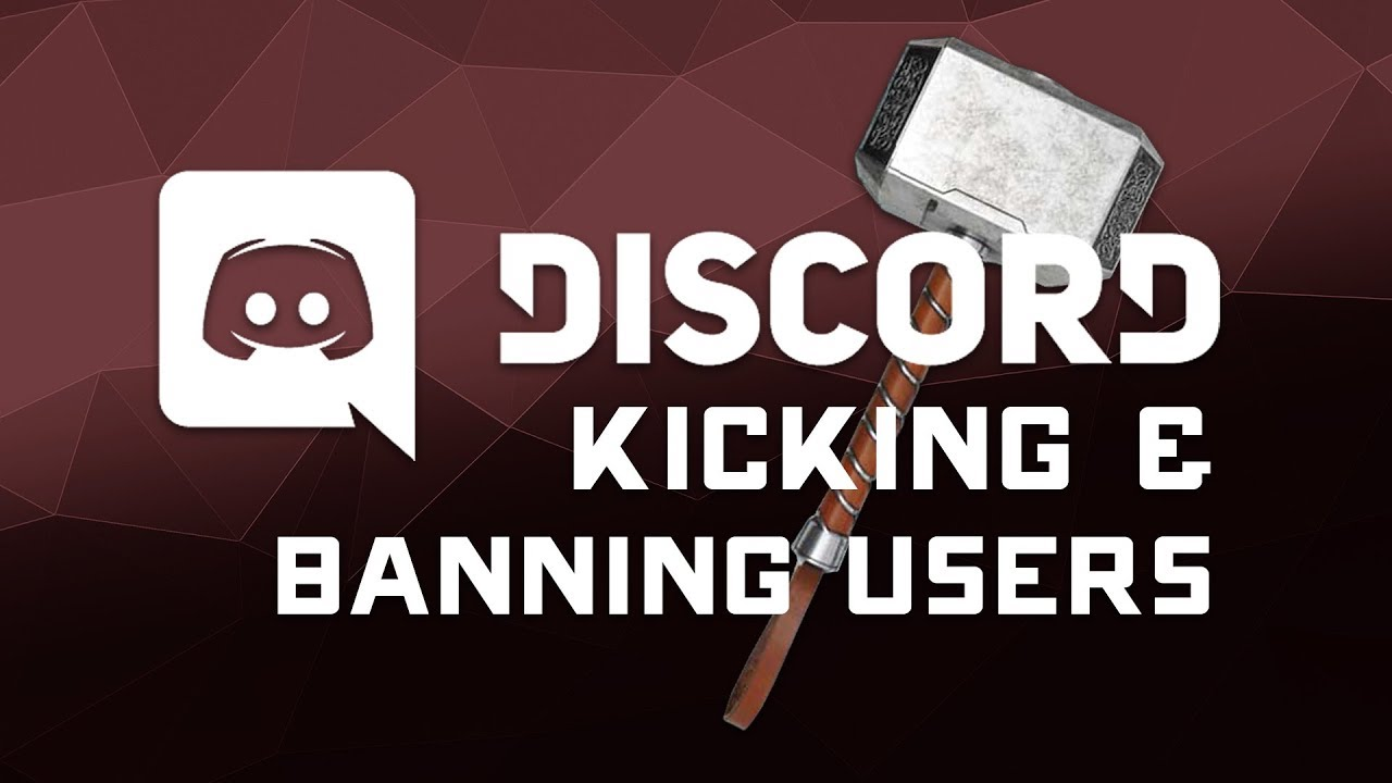 How to Ban & Kick Users from Your Discord Server - Tutorial