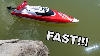 FAST Budget Friendly RC Boat Self-Righting - GoolRC GC001 - TheRcSaylors