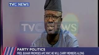 President Buhari promises APC he will carry members along