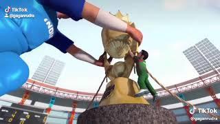 Crown cricket ka Madam ji ham le jayenge  India vs Pakistan 16jun