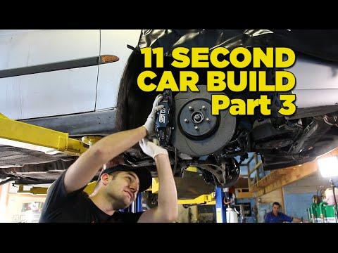 Gramps The 11 Second Car - Build Part 3