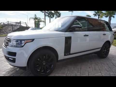 2017 land rover range rover 5 0l v8 supercharged youtube. Black Bedroom Furniture Sets. Home Design Ideas
