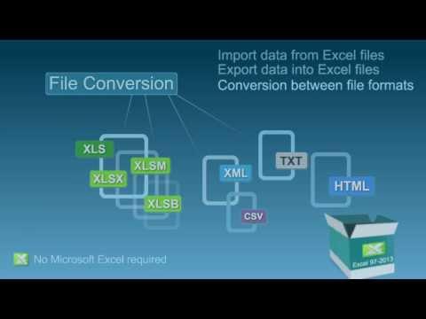 EasyXLS C# Excel library | VB NET Excel API | C++ NET Excel