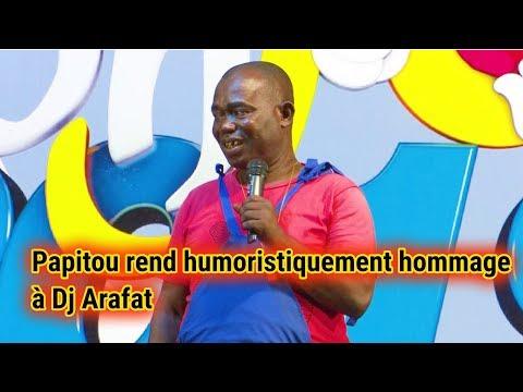 PAPITOU REND HUMORISTIQUEMENT HOMMAGE Â DJ ARAFAT