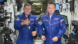 Поздравление из космоса: 100 лет Академии им. Н.Е. Жуковского