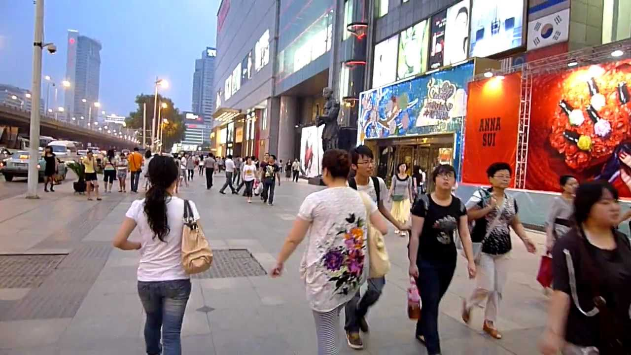 wuhan plaza shopping mall china youtube