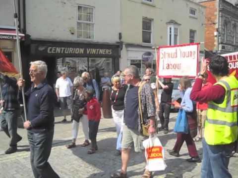 International Workers Day in Stroud 2011