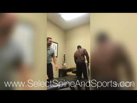 Body Builder Gets (LOUD) Back and Neck Crack With Chiropractor In Friendswood
