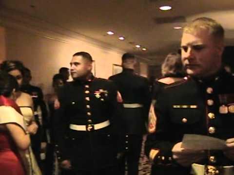 Marine Corps ball in vegas