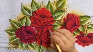 Pintando rosas Com Lia ribeiro – parte 2