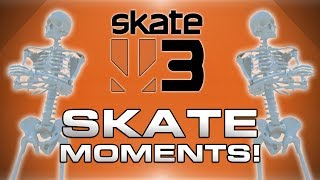 Skate 3 Hall of Meat Funny Moments! - Freefall, Funny Characters, Nogla Fails and More!