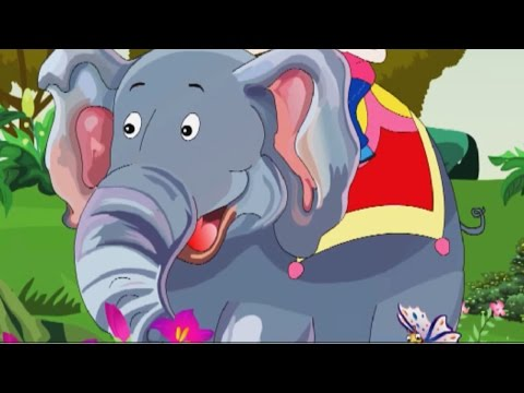 The Elephant Nursery Rhyme - Animated Songs for Children
