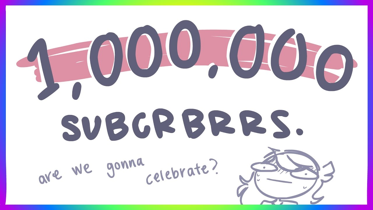 hhhhhhh 1 MILLION- how we're gonna celebrate - 1 mill thing by Jaiden Animations