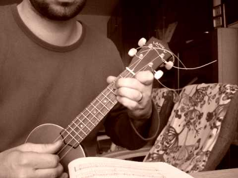 Jewish song for ukulele: Yoshke Fort Avek