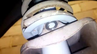 Замена ( амортизаторов) задних стоек на ваз 2109 ( 2110 2108 2112 2170 272) приора гранта калина
