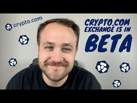 THE CRYPTO.COM EXCHANGE IS IN BETA!