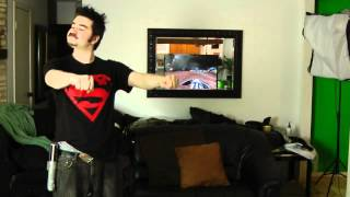Star Wars Kinect Angry Review (Video Game Video Review)
