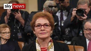 Trump Impeachment Inquiry: Ex-US envoy testifies against US President