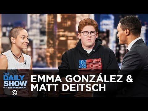 Emma Gonzalez & Matt Deitsch Discuss the Imporatnce of Voting –  | The Daily Show