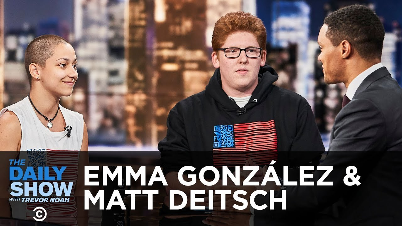 Emma Gonzalez & Matt Deitsch Discuss the Importance of Voting | The Daily Show