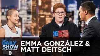 Emma Gonzalez & Matt Deitsch Discuss the Importance of Voting -  | The Daily Show