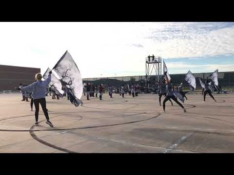"""""""Descent into Darkness"""" Mansfield Timberview High School Marching Band 2017 Run-Through"""