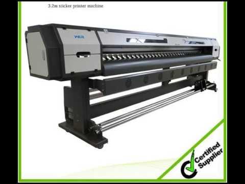 2 2 Meters Large Format Digital Wallpaper Printing Machine Youtube