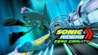 Sonic Riders Zero Gravity - Astral Babylon - Silver 4K 60 FPS