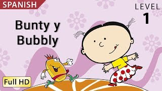 "Bunty and Bubbly: Learn Spanish with subtitles - Story for Children ""BookBox.com"""