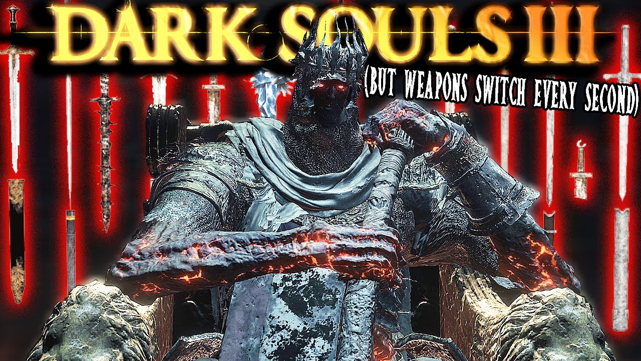 Bosses Are HARD When Your Weapons Switch Every Second - DS3: Weapon Randomizer Mod Funny Moments 5