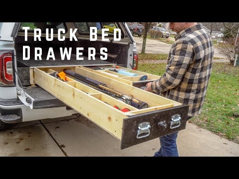 How To Build Truck Bed Drawers Suv Drawer Diy Youtube
