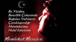 Ahmet afak  Memleket Meselesi