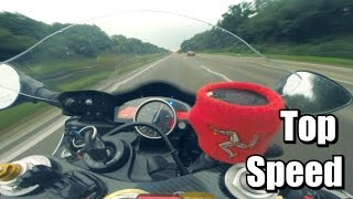 Video Yamaha R6 - Top Speed ★ Acceleration ★ Autobahn ★ In The Rain download MP3, 3GP, MP4, WEBM, AVI, FLV Desember 2017