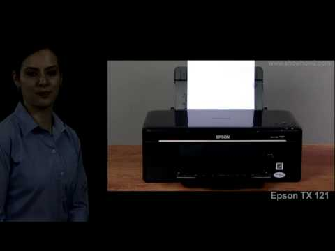Epson Printer TX121 - How to Clean the Paper Guide of the Printer
